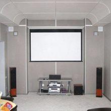 Применение акустических подвесных потолков